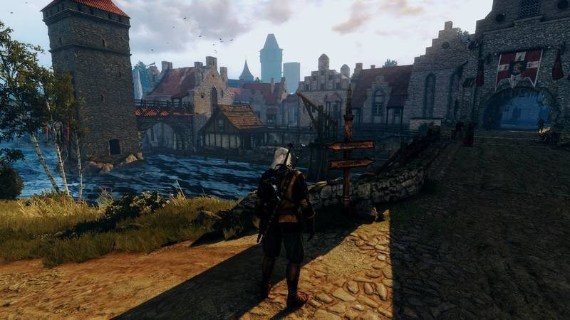 Witcher 3-4 unmodded