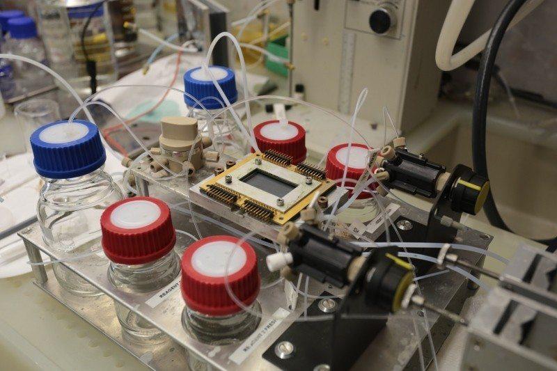 IBM 5D Blood testing rig