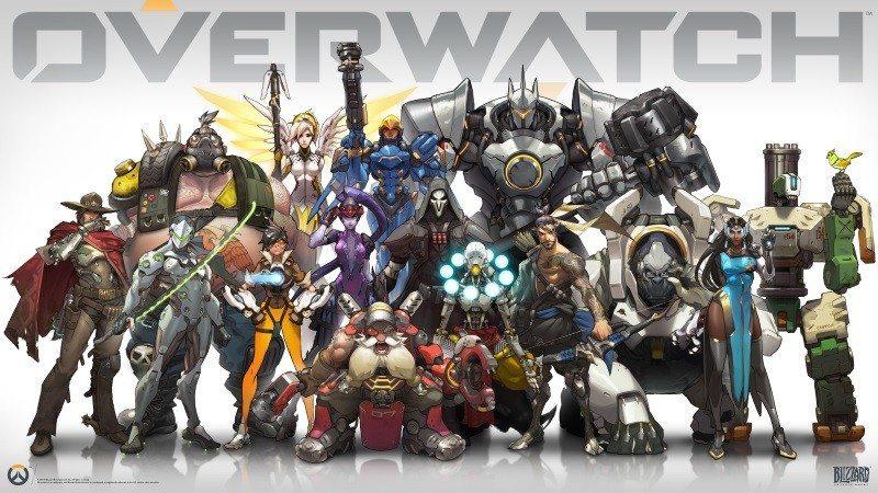 Overwatch hero lineup