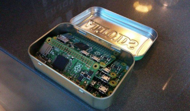 The new Raspberry Pi Zero