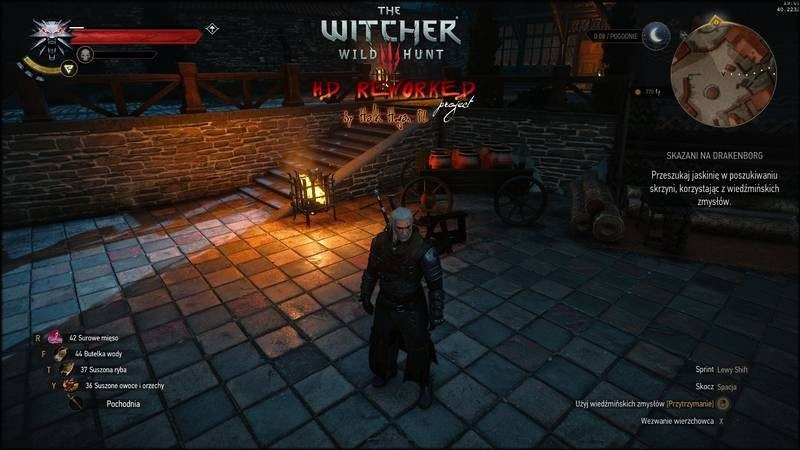 witcher3 mod-hall 2 remade