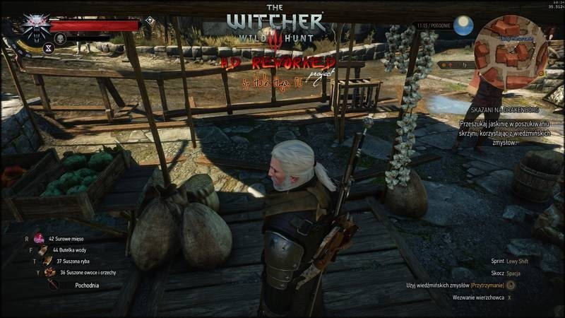 The Witcher 3 Mod Improves Evironment Textures and Draw
