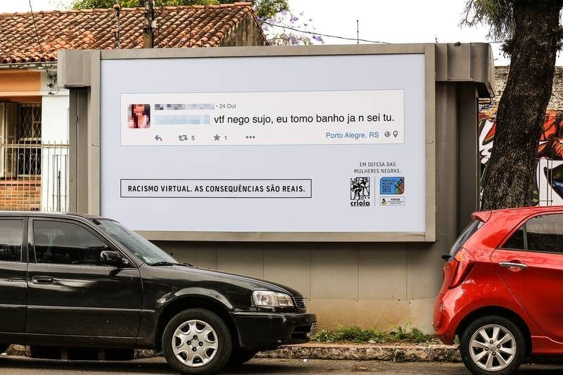 Brazilian Anti-Troll Billboard