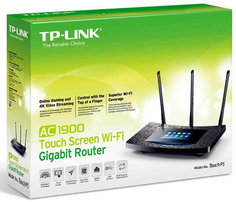 TP-Link Touch P5 Router (1)