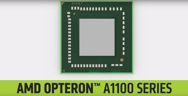 AMD Opteron A1100 ARM server A57 SoC 64bit