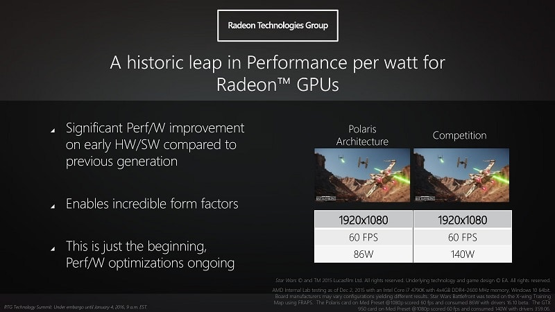 AMD RTG Polaris GPU 6