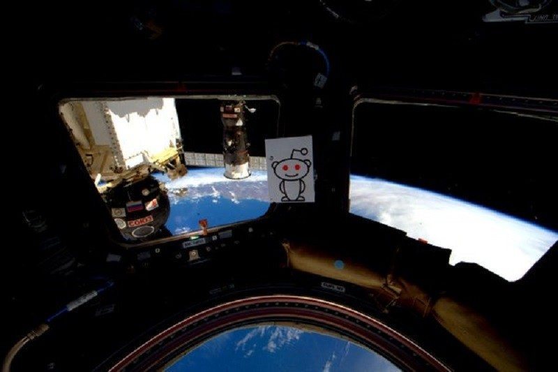 Aboard the ISS