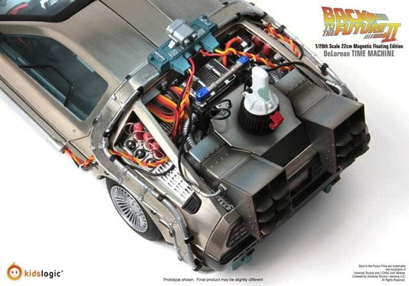 Levitating DeLorean 1