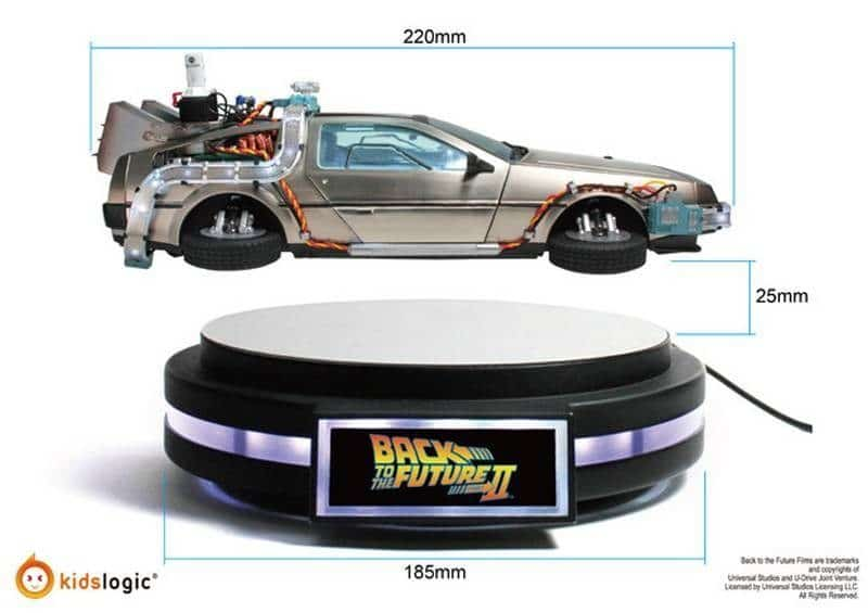 Levitating DeLorean Prototype2 3