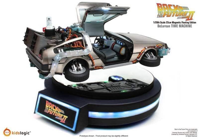 Levitating DeLorean Prototype2 4