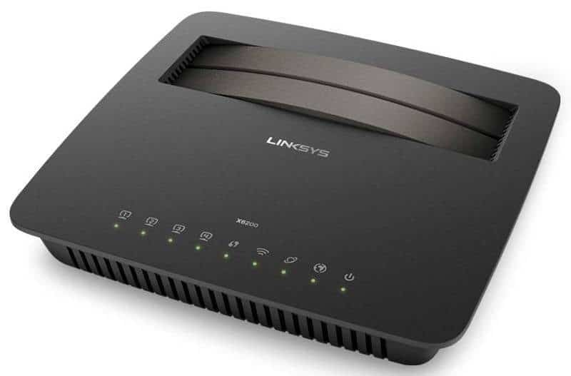Linksys X6200 modem router (1)