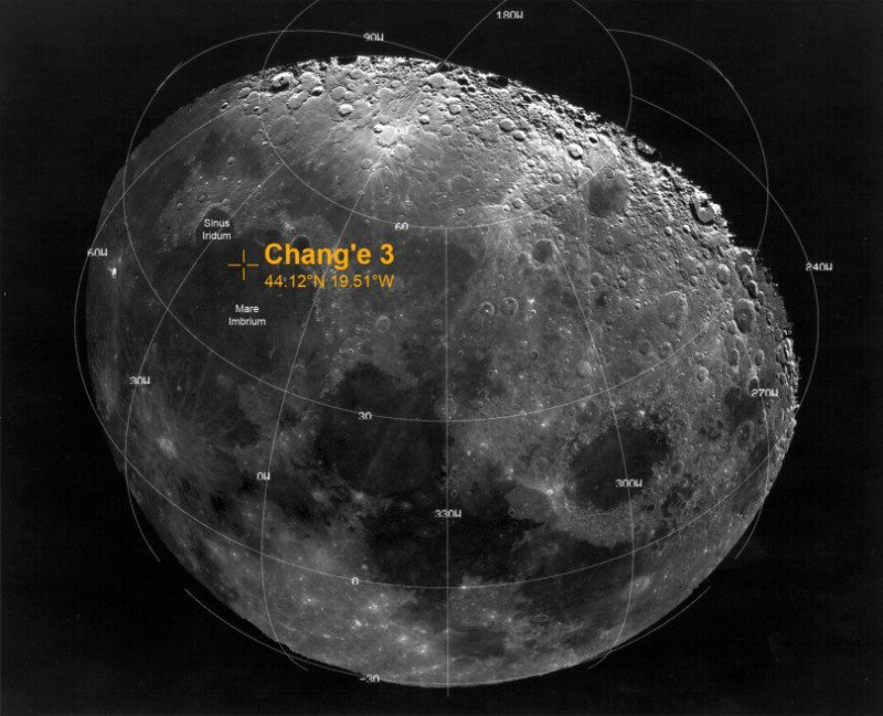 china moon nasa