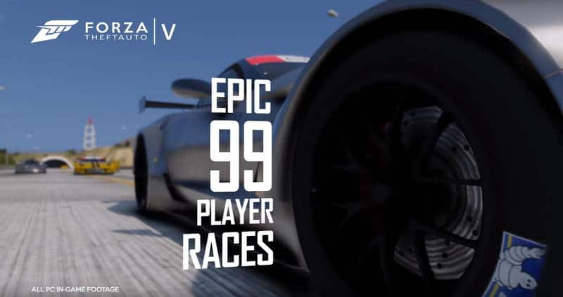 Watch Forza 6 Launch Trailer Made with Grand Theft Auto V