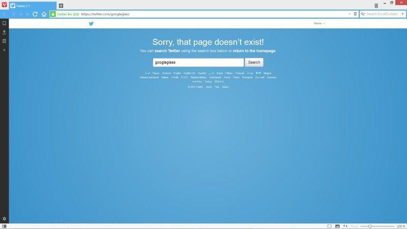google glass twitter