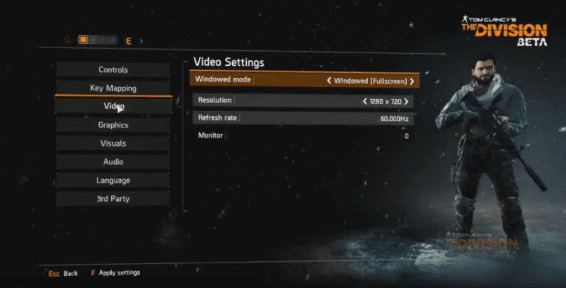the-division-pc-settings