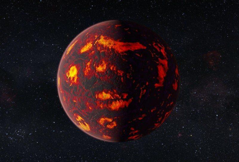 55 Cancri e - A super-earth exoplanet