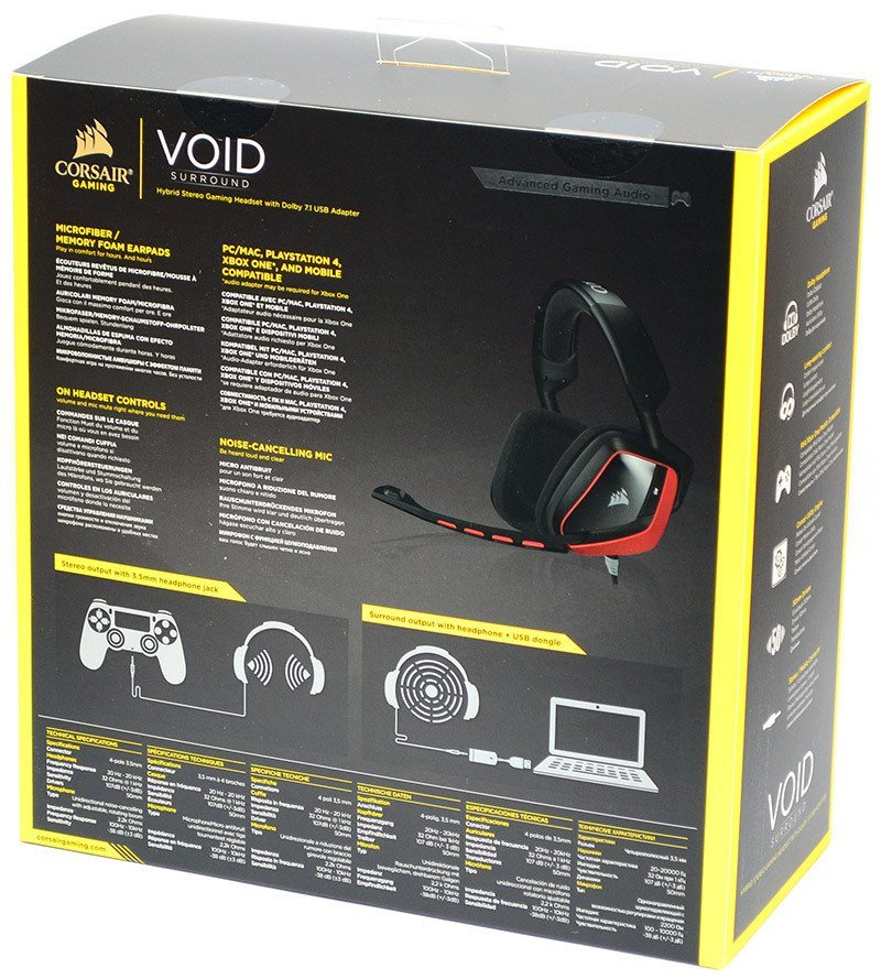 Corsair Void Surround Hybrid Gaming Headset Review | eTeknix