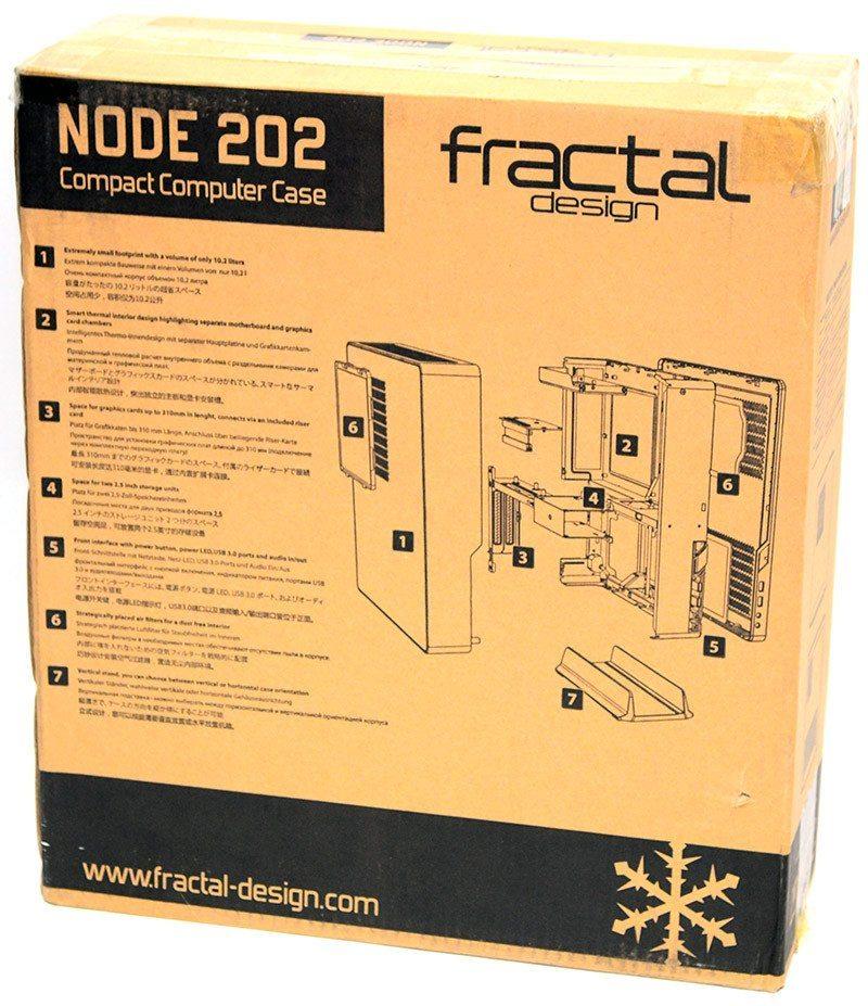 fractal node 202