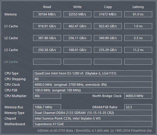 SuperMicro_X11SAE-Bench-RAM_aida