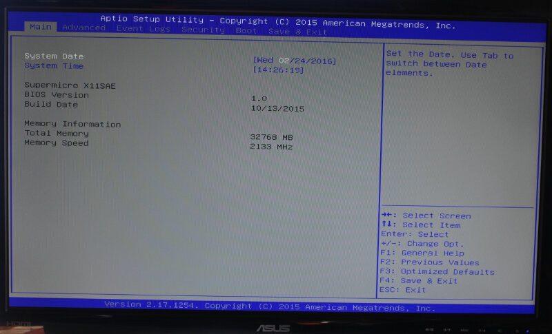 SuperMicro_X11SAE-Photo-BIOS 1