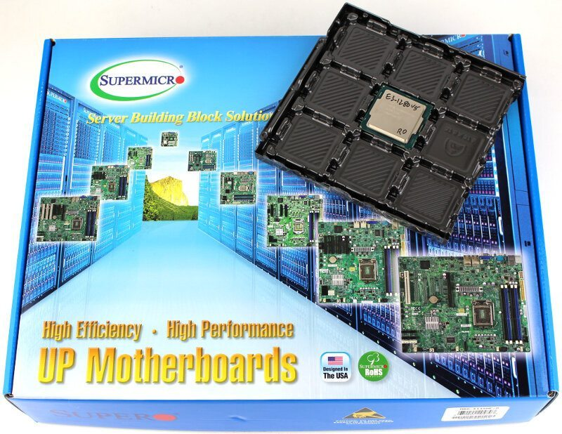 Supermicro X11SAE Workstation