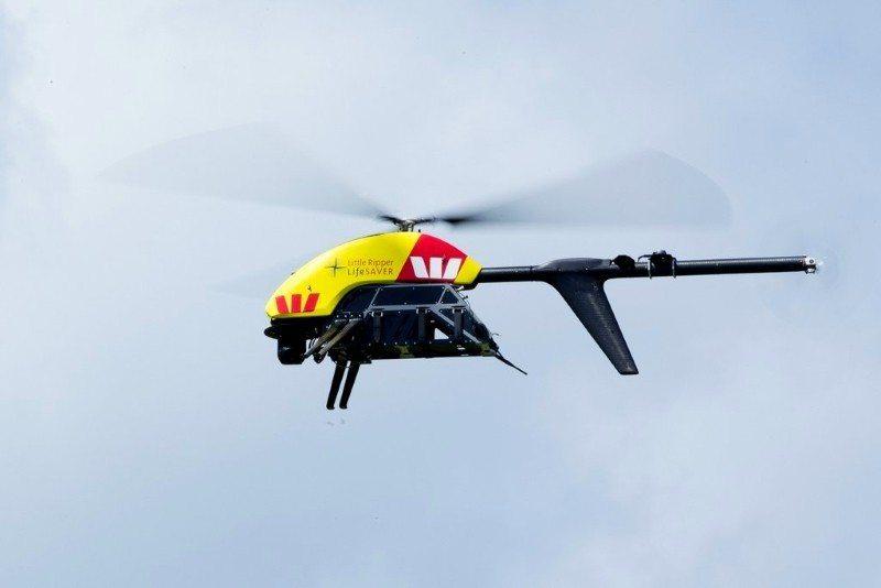 Shark-Spotting Drones