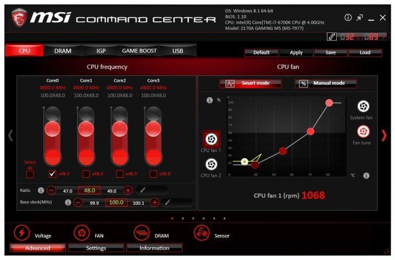MSI Z170A GAMING M5 (LGA1151) Motherboard Review | eTeknix