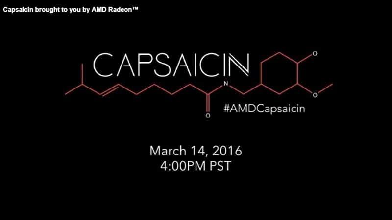 AMD Capsaicn March 14th