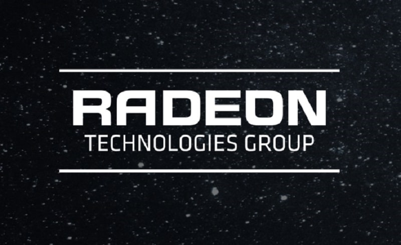 AMD RTG Logo Radeon Technologies Group GPU
