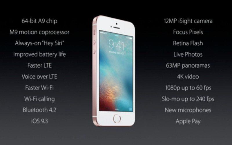 Apple Announces the New iPhone SE (1)