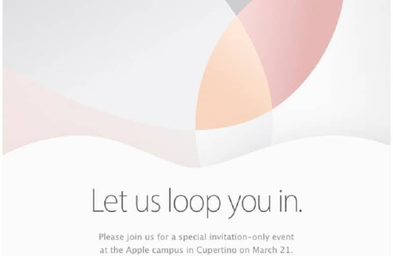 Apple March 21st 2016 Let us loop you in