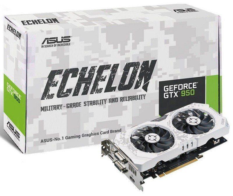 Asus Reveals TUF Echelon GTX 950 Graphics Card