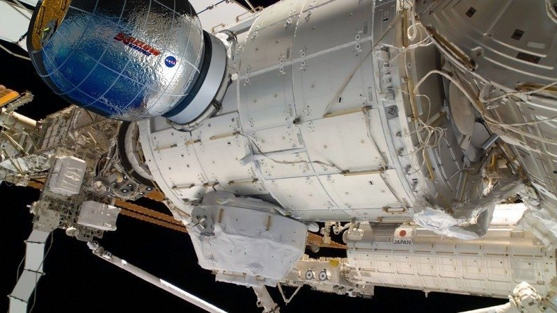 NASA to Test Inflatable Living Modules on The ISS
