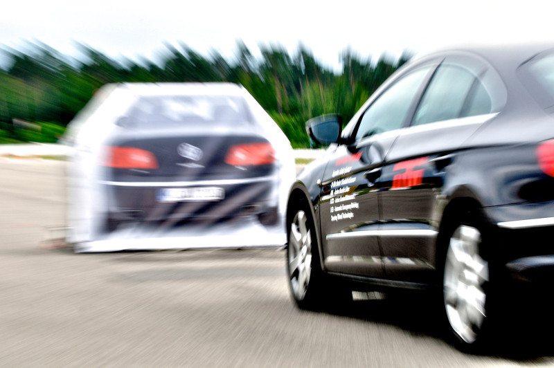 Collision mitigation braking