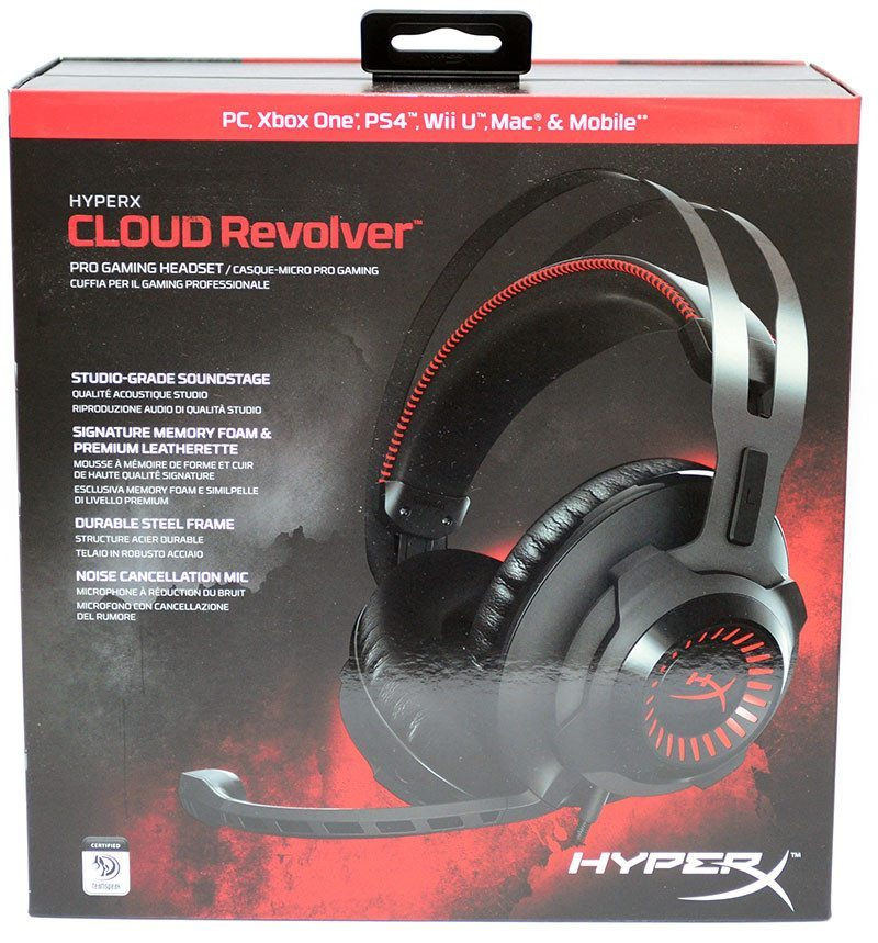 HyperX Cloud Revolver Pro Gaming Headset Review | eTeknix