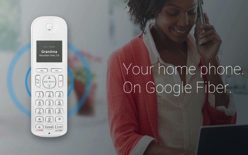 Google Fiber Home Phone Service Announced