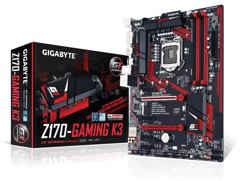 Gigabyte Z170-Gaming K3 (LGA1151) Motherboard Review