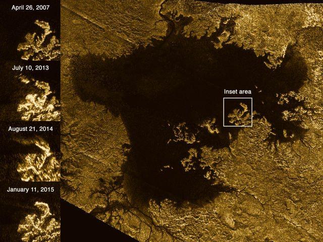 Images Of Saturn's Moon Titan Reveal Magic Island