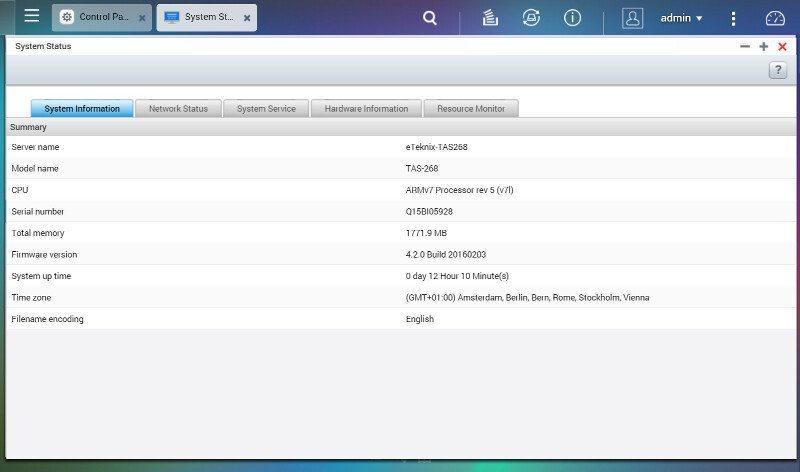 QNAP_TAS268-SS-SysInfo 1