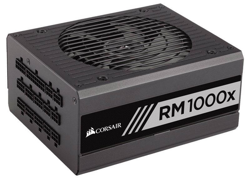 Corsair RM1000x 1000 Watt 80 PLUS Gold Fully Modular Power Supply Review