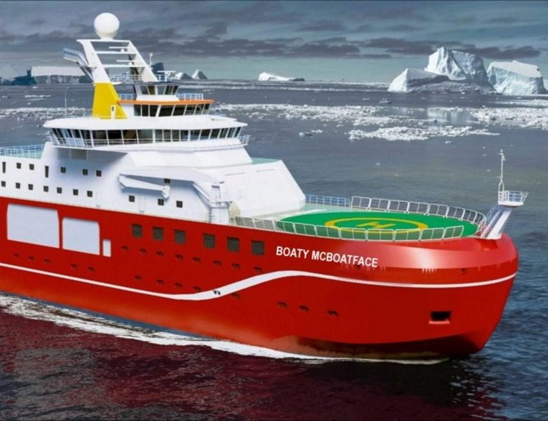 Royal Research Ship Boaty McBoatface