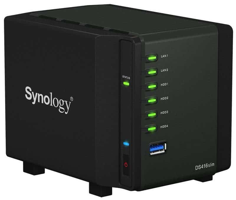 Synology Releases DS416slim 2.5-Inch 4-Bay NAS