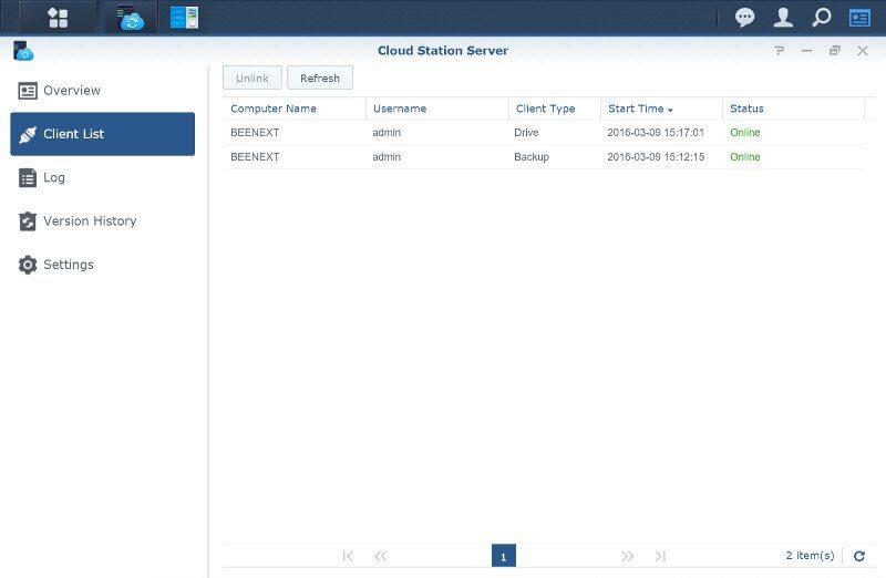 Synology DSM6-SS-CloudStation 5