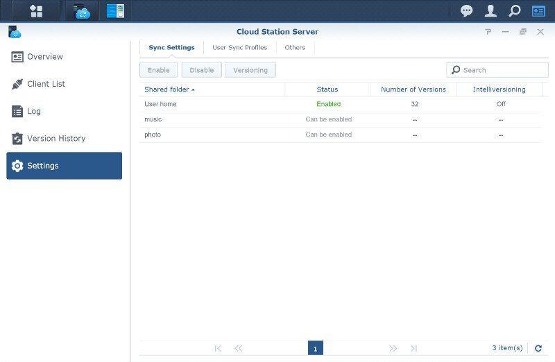 Synology DSM6-SS-CloudStation 8