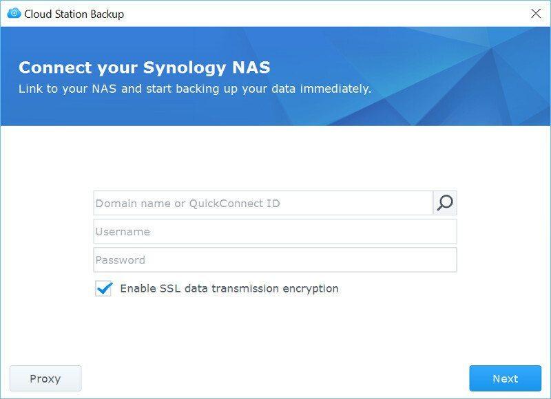 Synology DSM6-SS-CloudStation Backup 2
