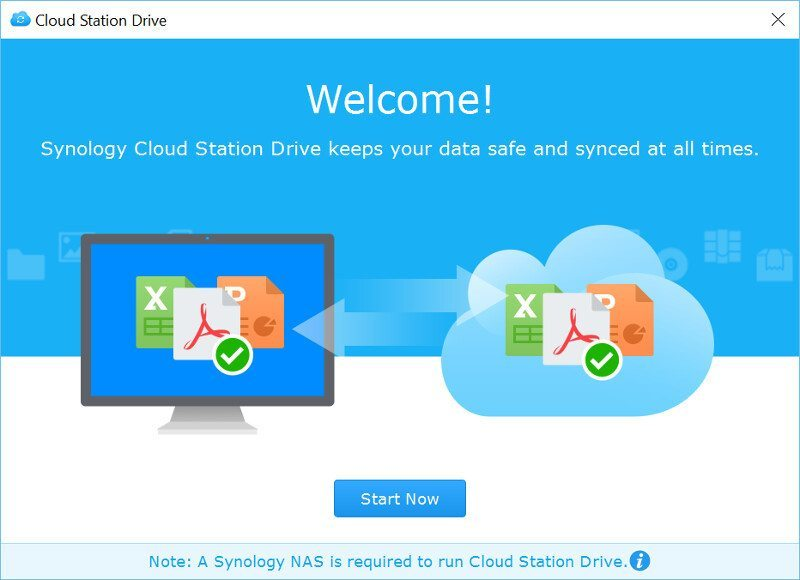 Synology DSM6-SS-CloudStation Drive 1