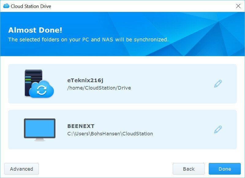 Synology DSM6-SS-CloudStation Drive 3