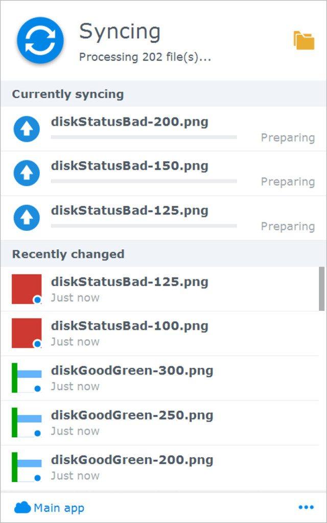 Synology DSM6-SS-CloudStation Drive 5