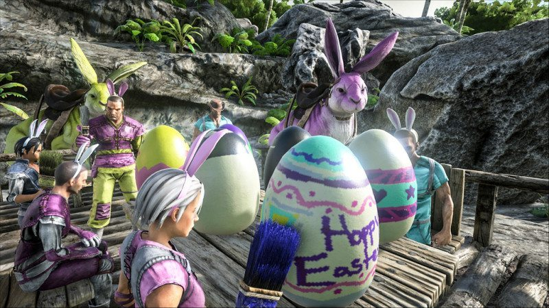 Ark: Survival Evolved Updated to Include Bunnies