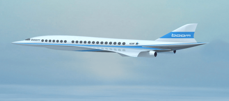Boom - The Supersonic Passenger Plane